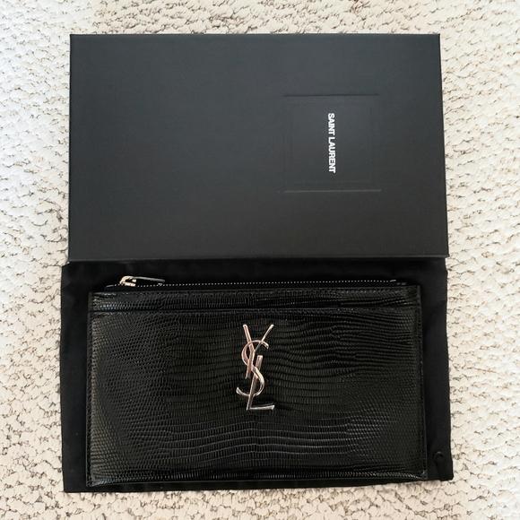 Authentic Brand New Saint Laurent Pouch